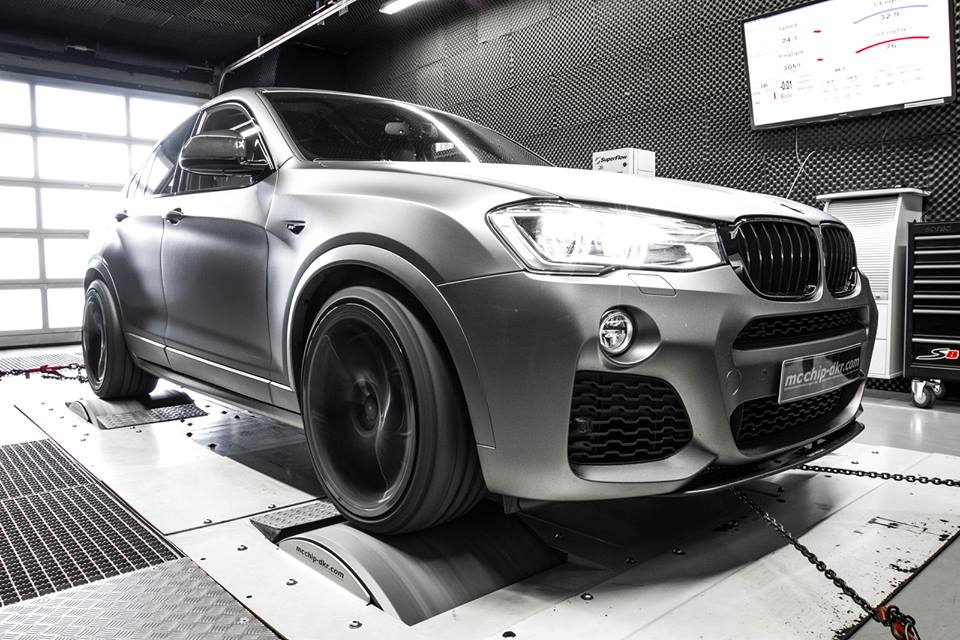 BMW X4 xDrive35d Taken Up to 370 HP Is a Preview for the ...