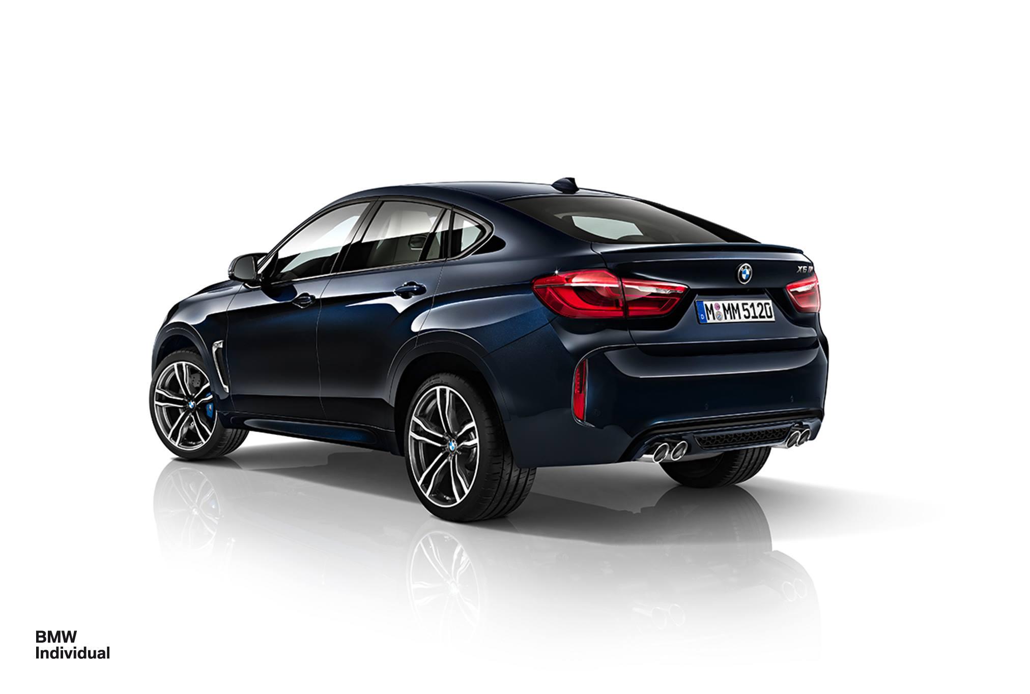 BMW X6 M In Azurite Blue Individual