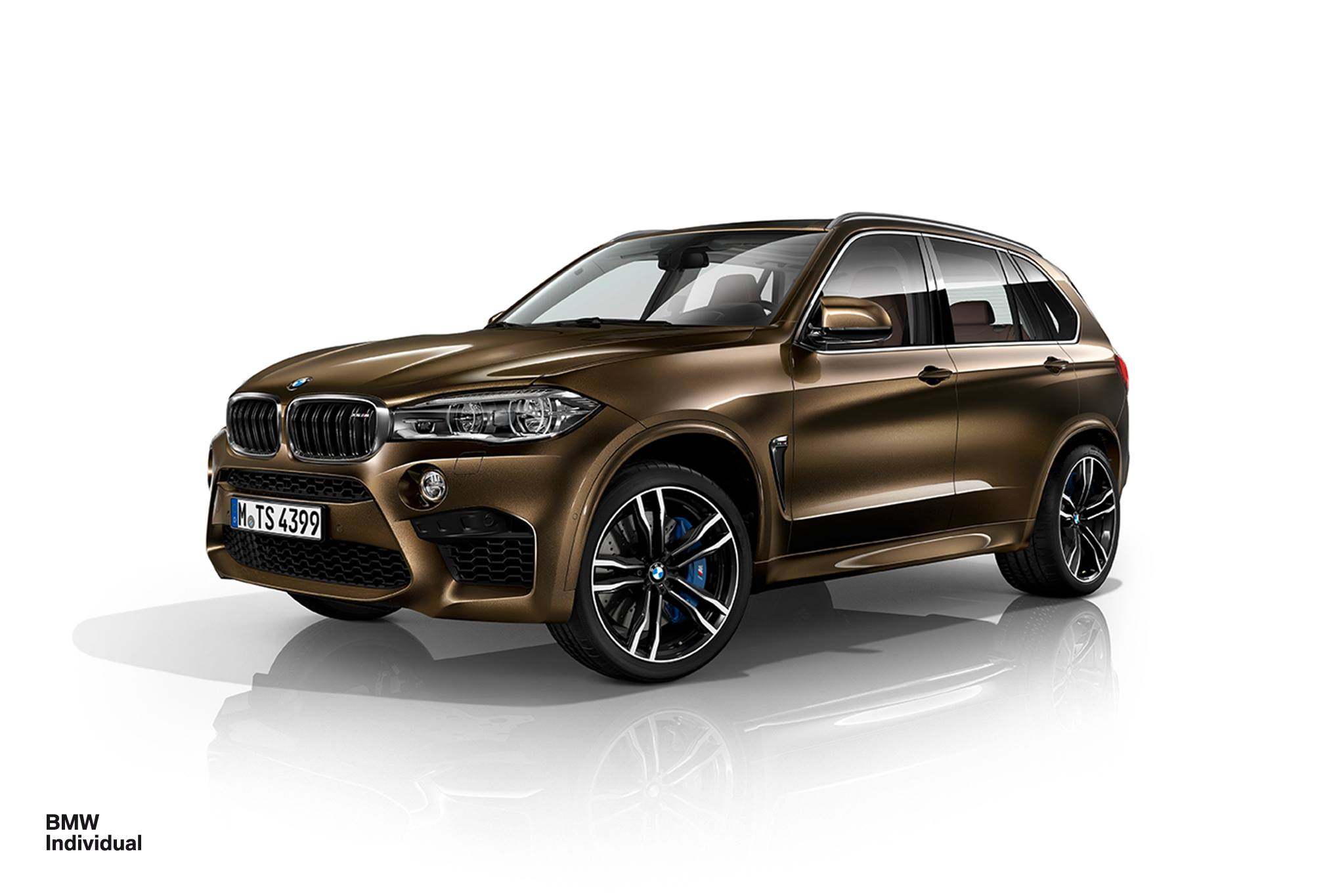 bmw x5 m and x6 m dress up in pyrite brown and azurite blue individual paints autoevolution. Black Bedroom Furniture Sets. Home Design Ideas