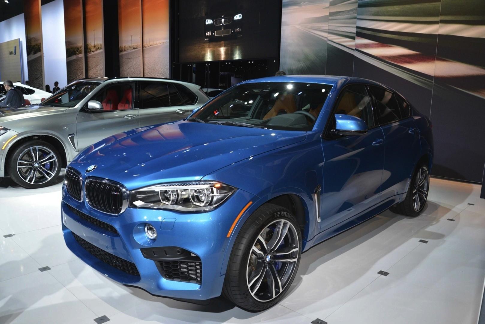 Bmw X5 M And X6 M Show Up In La With New Colors Live Photos Autoevolution