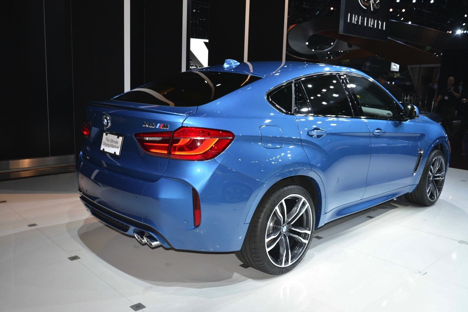 Bmw X5 M And X6 M Show Up In La With New Colors Live Photos Autoevolution