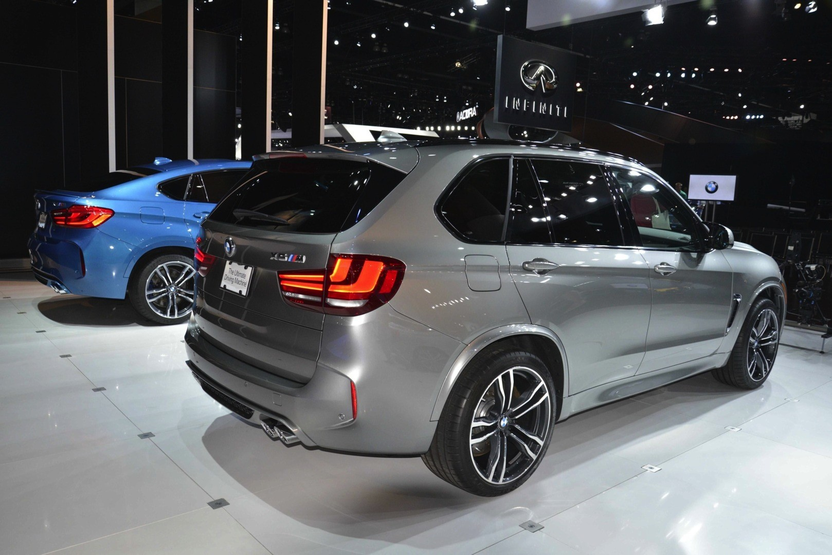 Bmw X5 M And X6 M Show Up In La With New Colors Live