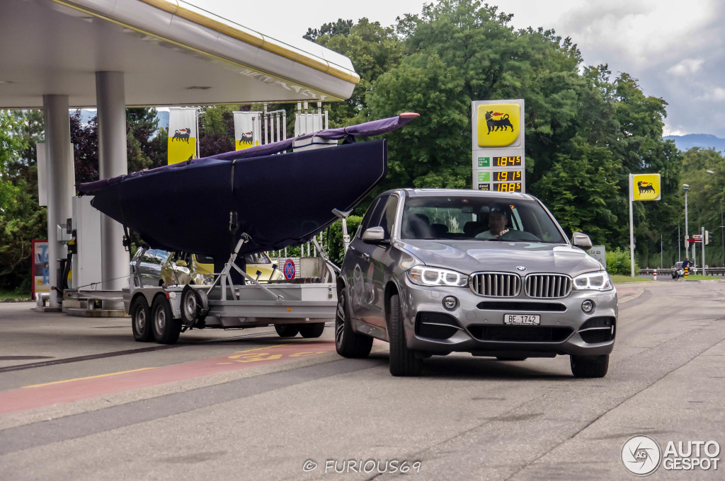 Bmw X5 Towing >> 2014 BMW X5 M50d Real-Life Fuel Consumption: 10.5 l/100 km - autoevolution