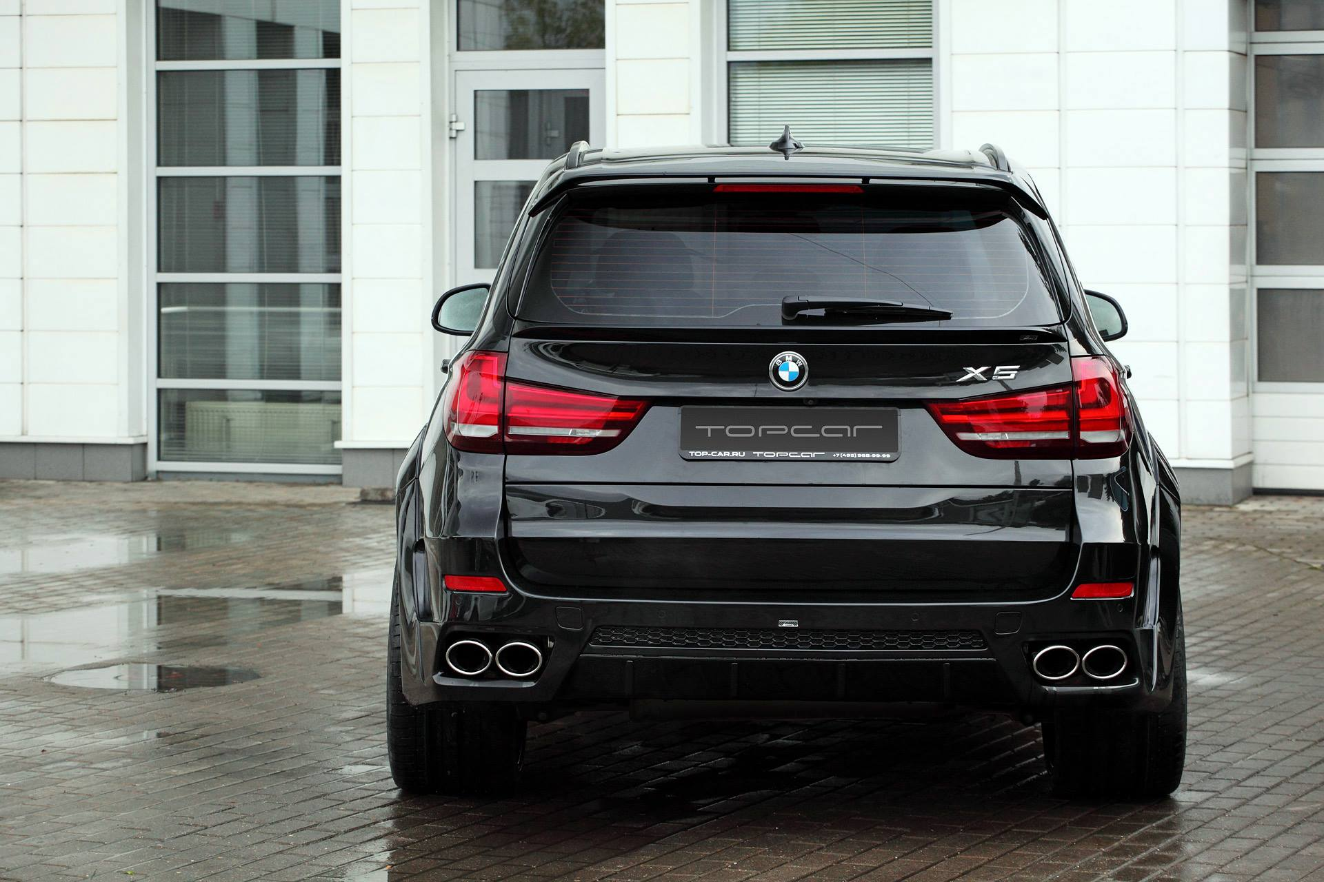 Bmw X5 With Lumma Clr Rs Looks Sinister In Black