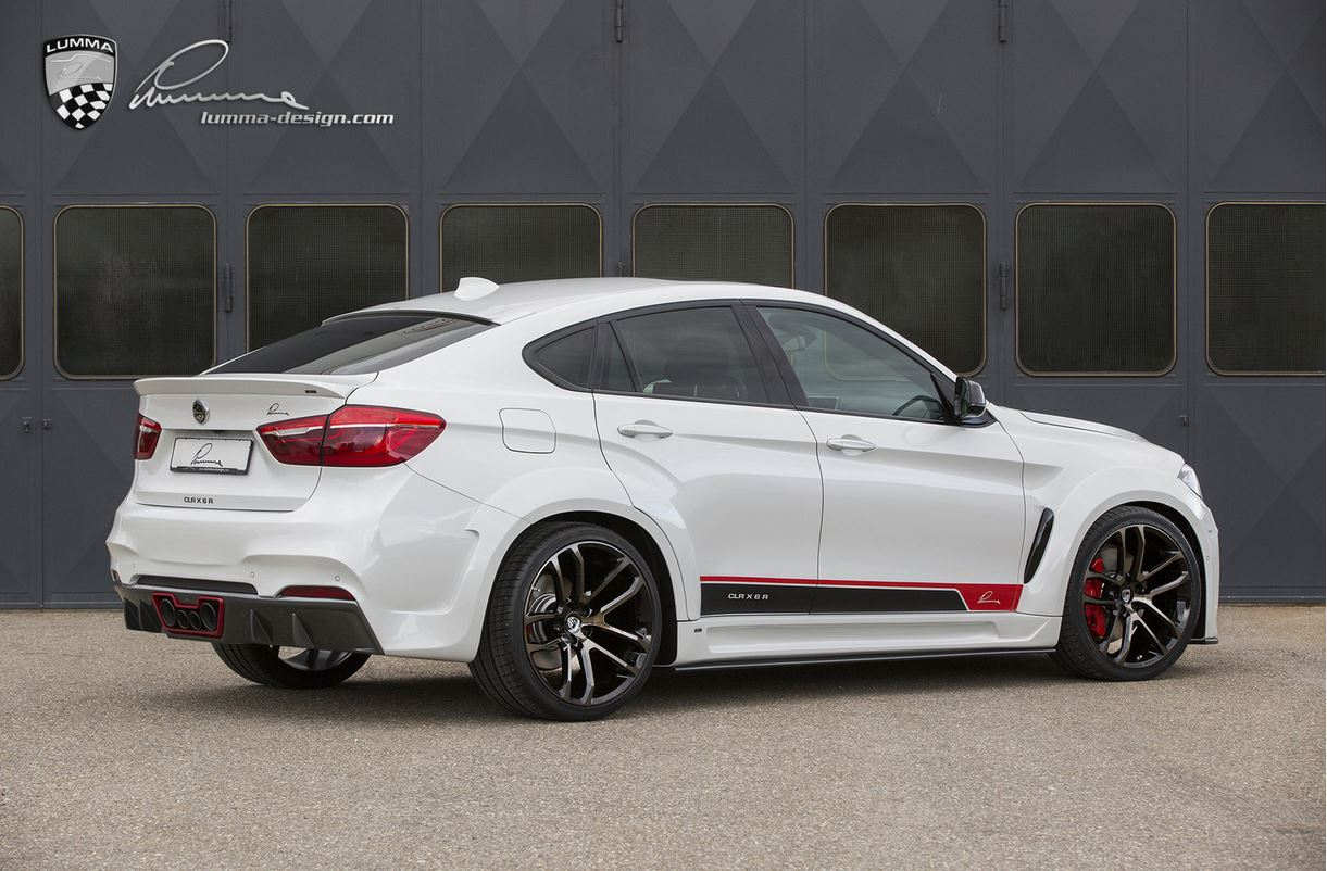 Bmw X6 Based Lumma Design Clr X 6 R Revealed In Production Guise