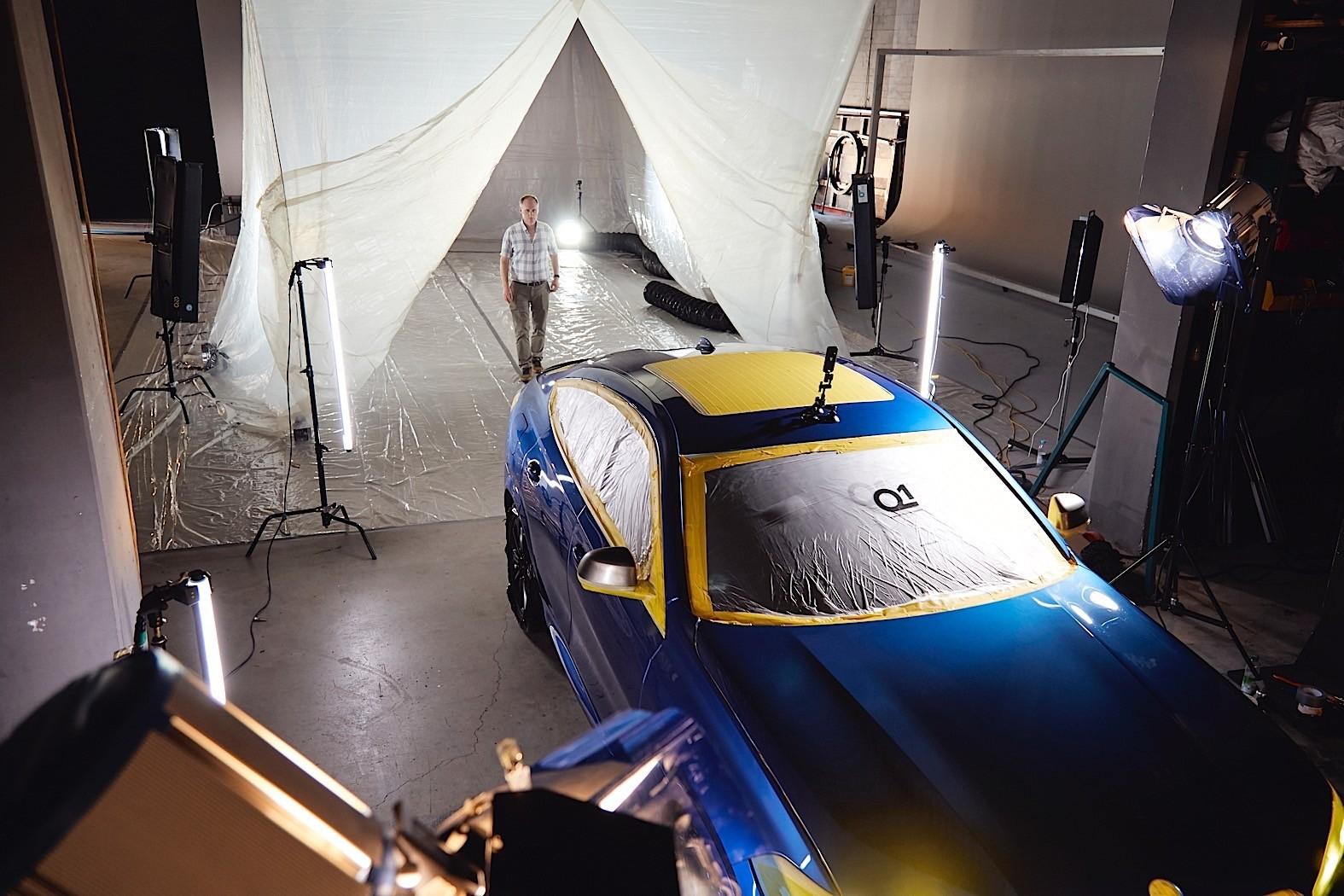 Bmw X6 Concept In Vantablack Is The World S Darkest Car Autoevolution