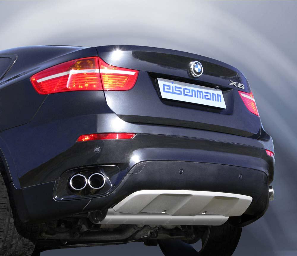 Bmw X6 Tuned: BMW X6 M Receives Eisenmann Exhaust