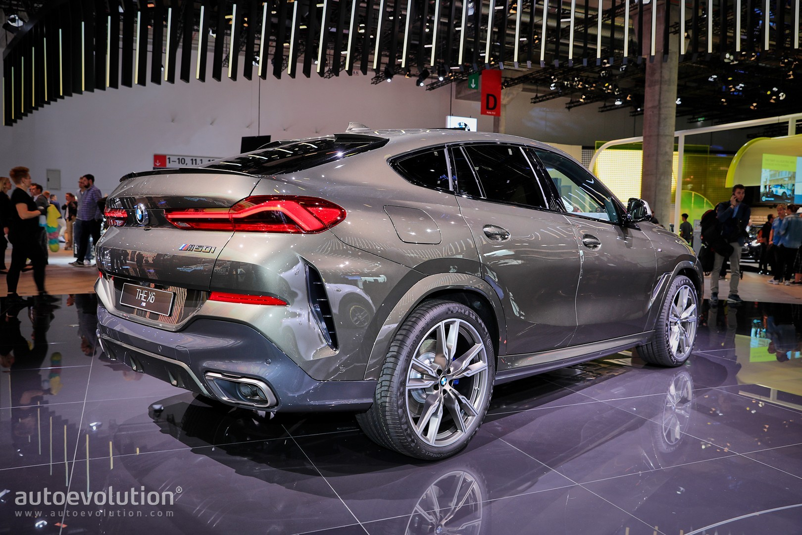 2020 Bmw X6 M50i Revealed In Frankfurt As Ultimate Thug Suv Autoevolution