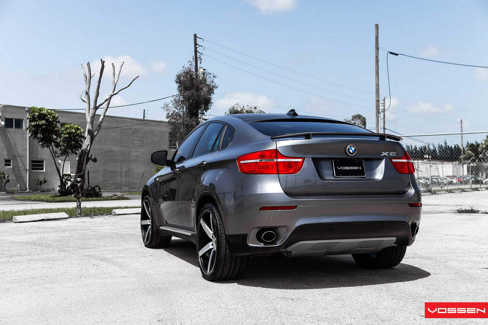 Bmw X6 On Vossen Wheels Autoevolution