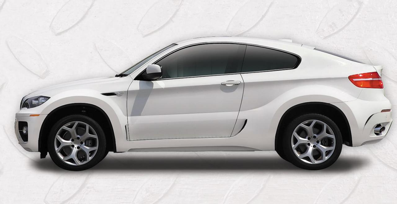 Bmw X6 Two Door Conversion From Russia Autoevolution