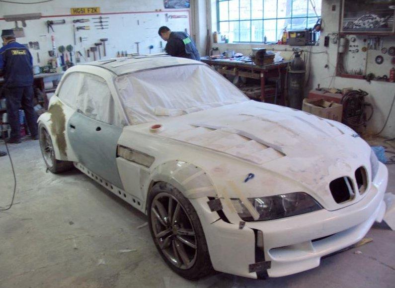 bmw z3 gets m5 v10 engine for bulgarian racing   autoevolution