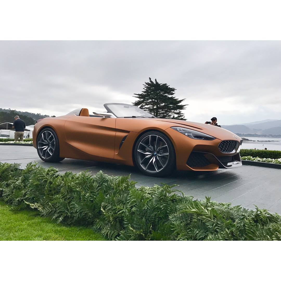 Bmw Z4m Coupe: BMW Z4 And 8 Series Concepts Share Pebble Beach Spotlight