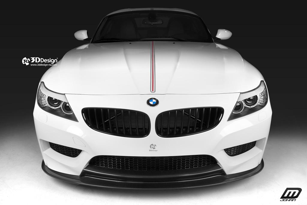 Bmw Z4 Gets Tweaked By 3d Design Autoevolution