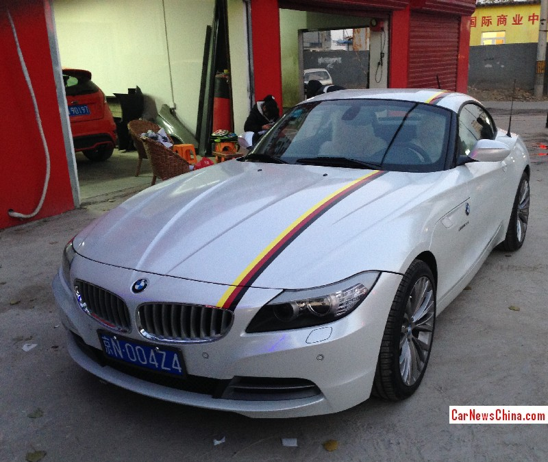 Bmw Z4 Has Custom Plates In China Autoevolution