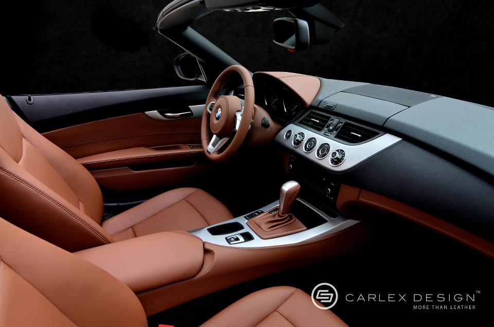 bmw z4 milk chocolate custom leather interior autoevolution. Black Bedroom Furniture Sets. Home Design Ideas