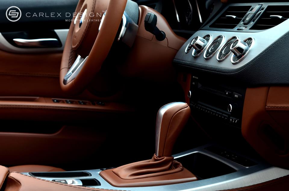Bmw Z4 Milk Chocolate Custom Leather Interior Autoevolution