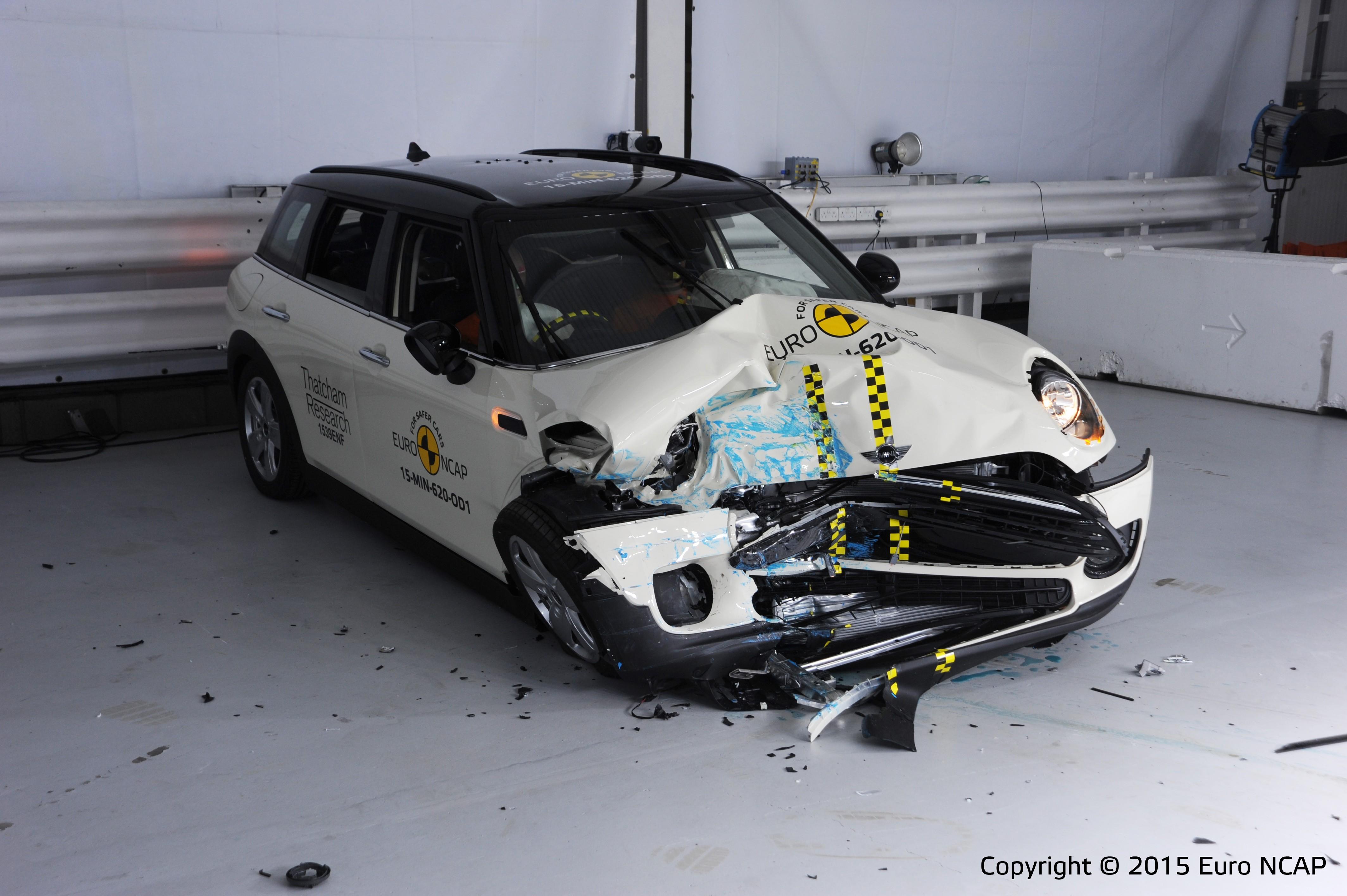 Latest Euroncap Test New Mini Clubman Falls Short With 4
