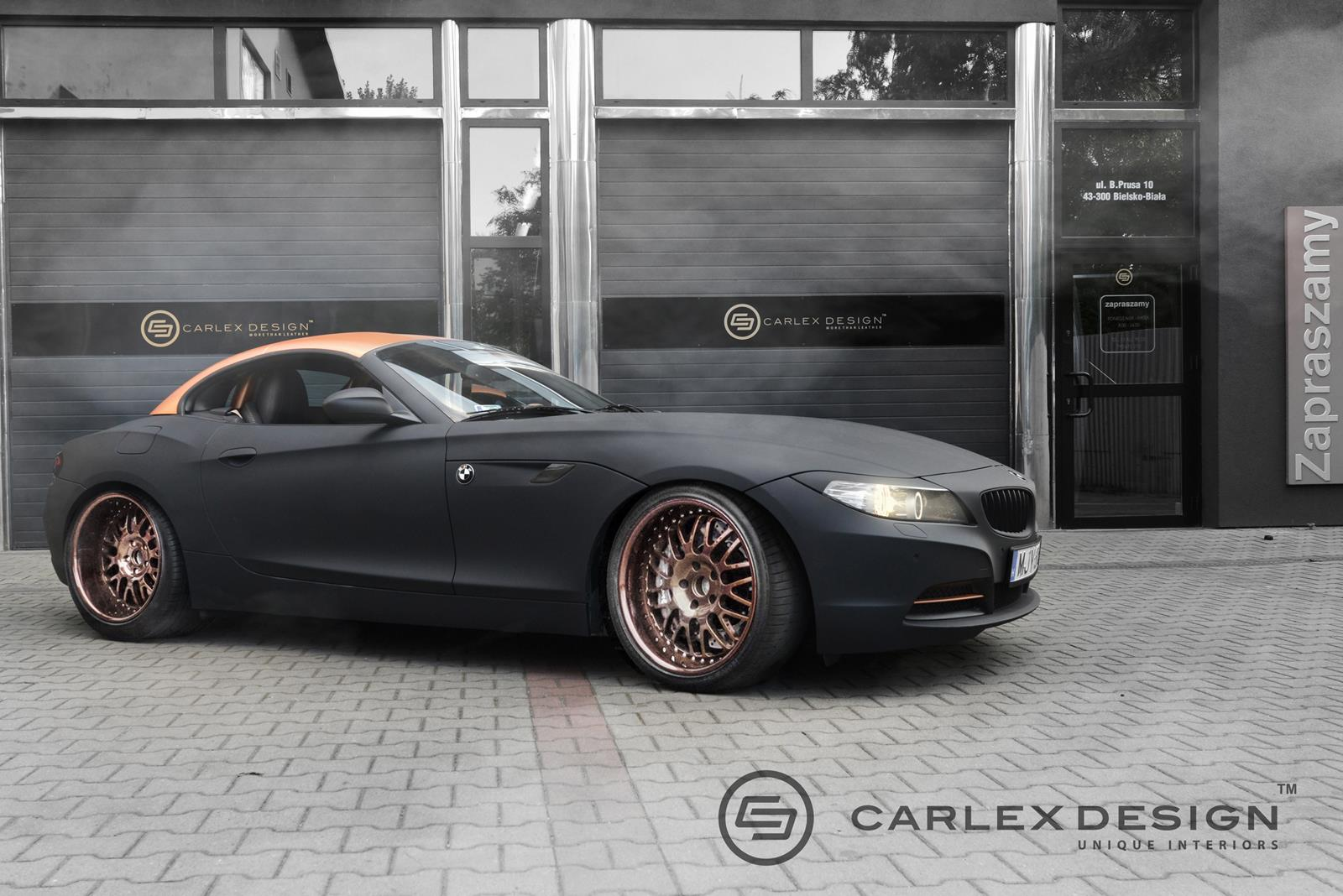 Bmw Z4 Streampunk Interior Is Packed With Copper Plated