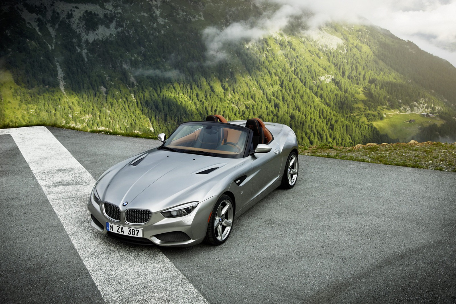 Bmw Z Zagato Roadster Concept Unveiled Photo Gallery