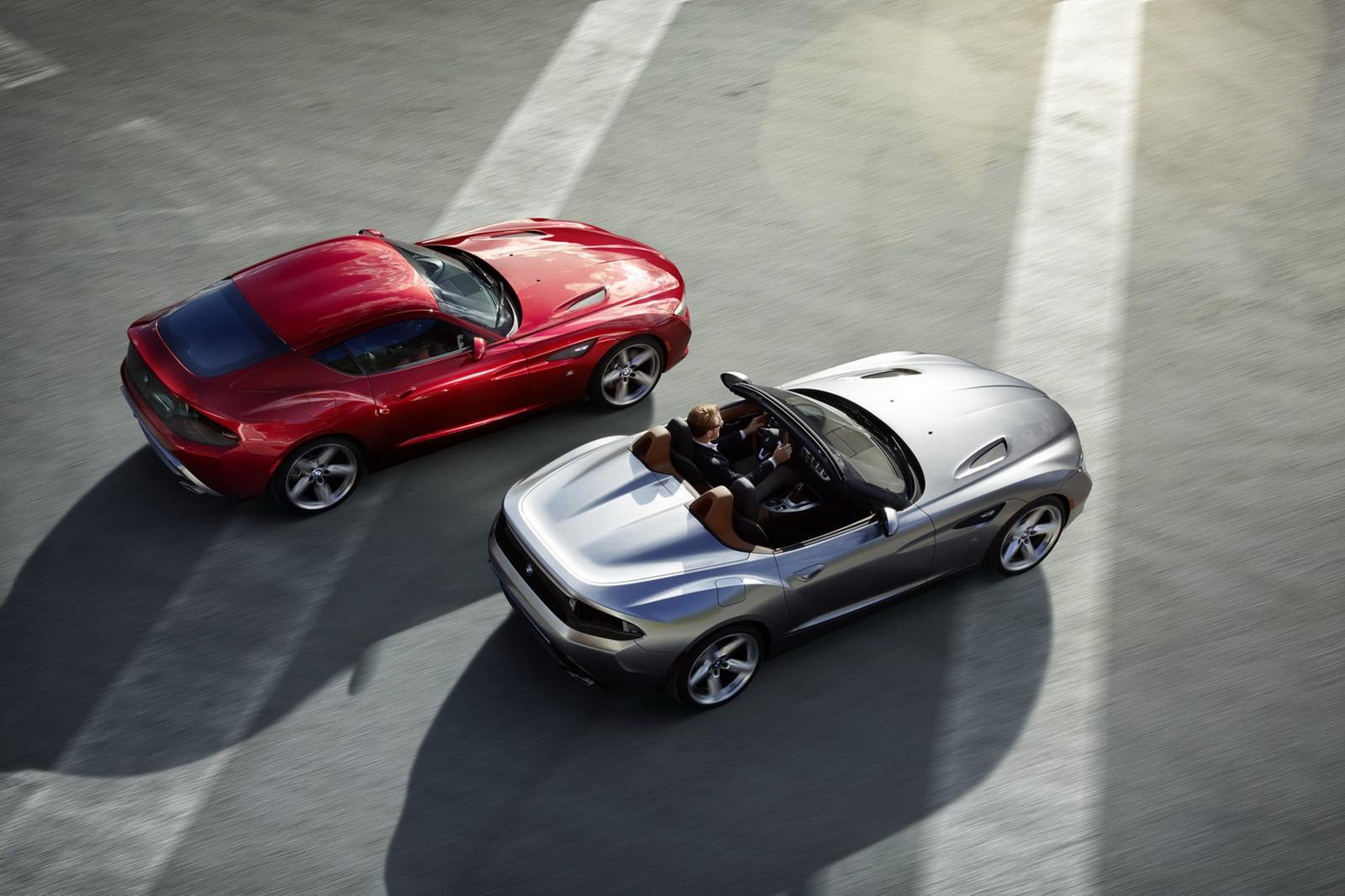 Bmw z4 zagato roadster concept unveiled autoevolution