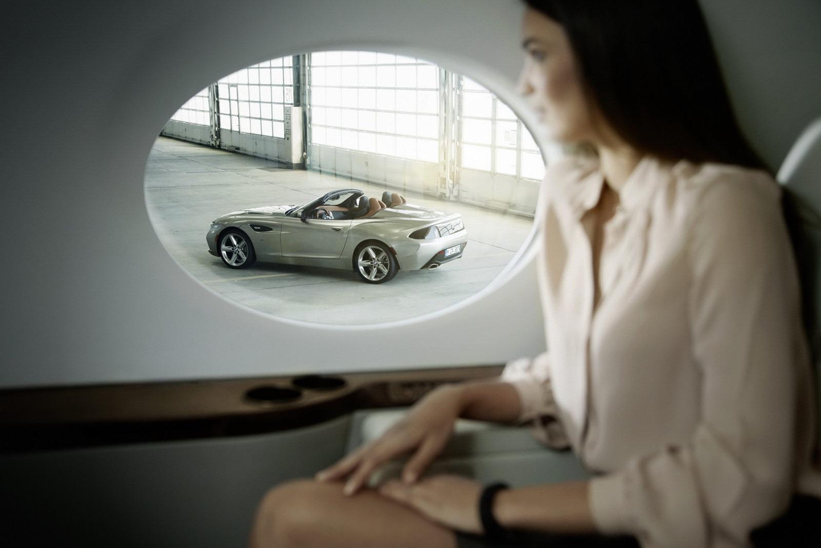 BMW Z4 Zagato Roadster Concept Unveiled - autoevolution