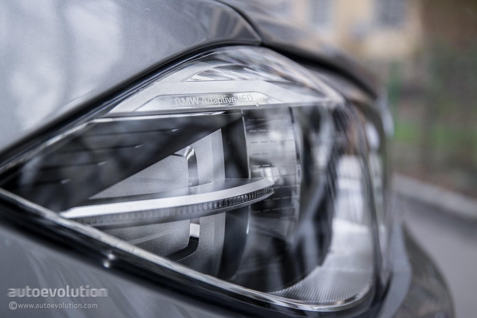 bmw adaptive led headlight adjustment