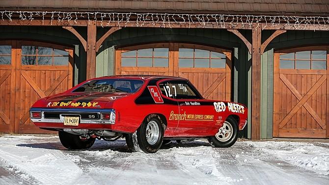chevelle super alert drag 1970 chevrolet heading auction racer autoevolution s1 dragster ss bob