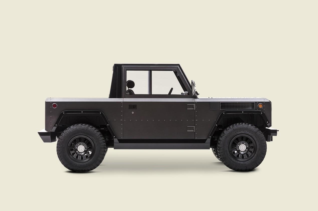 Bollinger B1 Is Half Electric Suv Half Electric Pickup