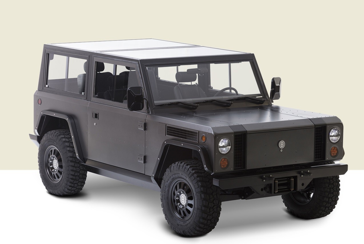 Bollinger B1 Is Half Electric Suv Half Electric Pickup