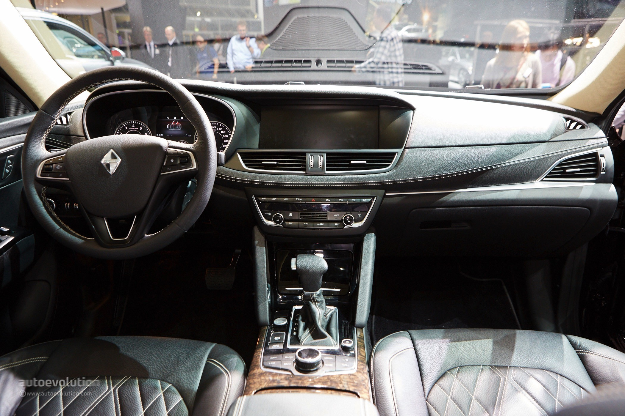 Borgward Is Officially Back with its BX7 SUV in Frankfurt - autoevolution