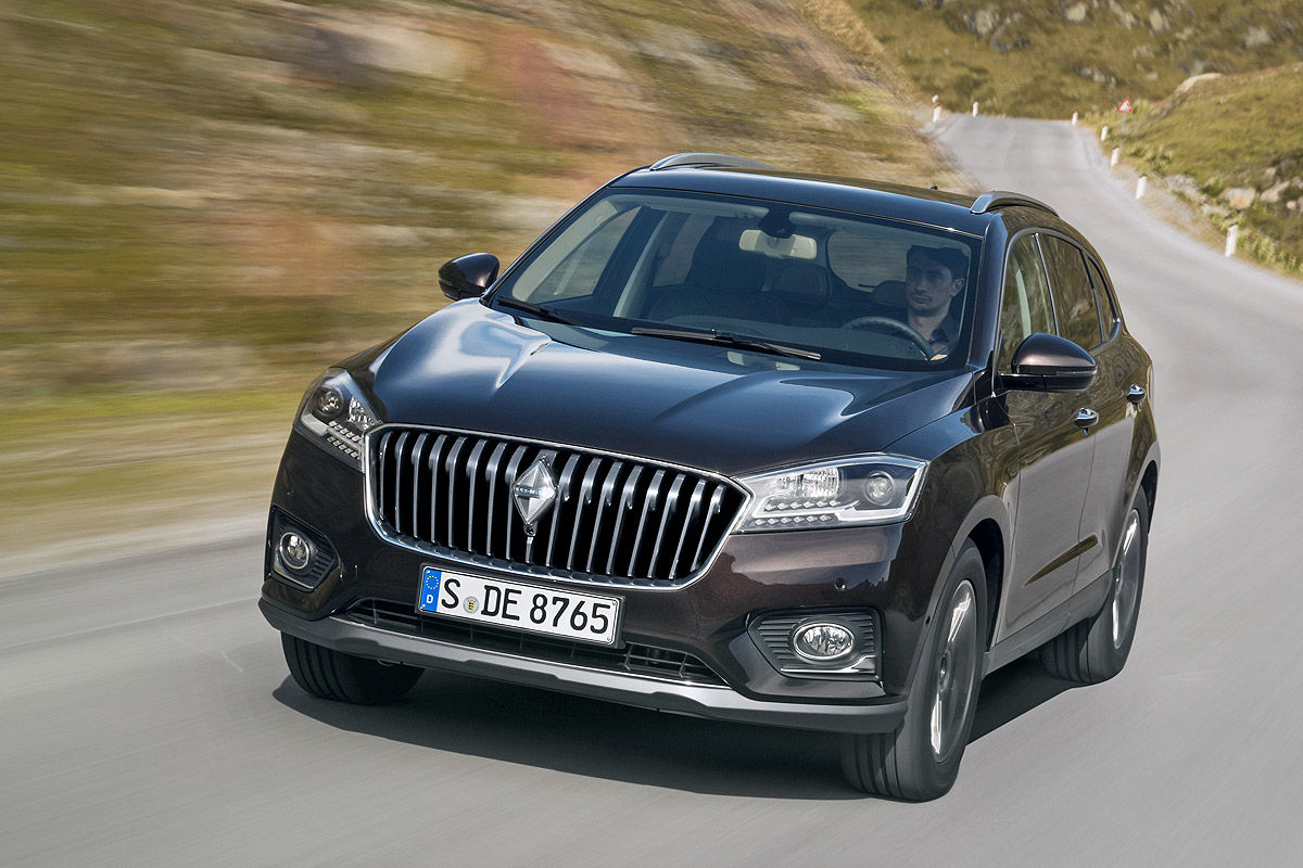 borgward s new bx7 suv revealed looks better than expected autoevolution. Black Bedroom Furniture Sets. Home Design Ideas