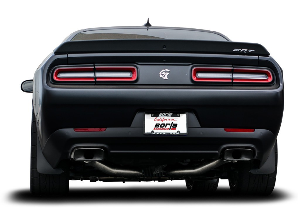 Borla Exhaust Systems For Dodge Challenger Srt Hellcat