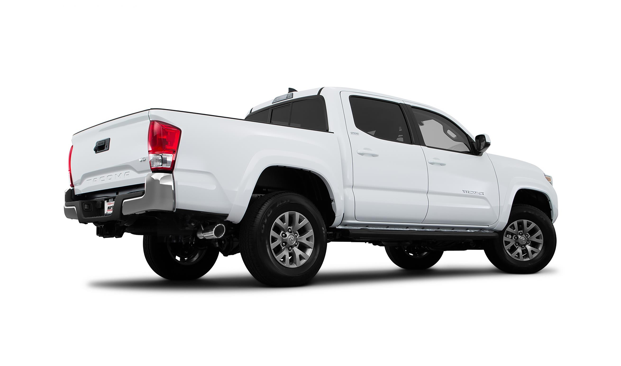 borla exhaust system for toyota tacoma 3 5 v6 priced at. Black Bedroom Furniture Sets. Home Design Ideas