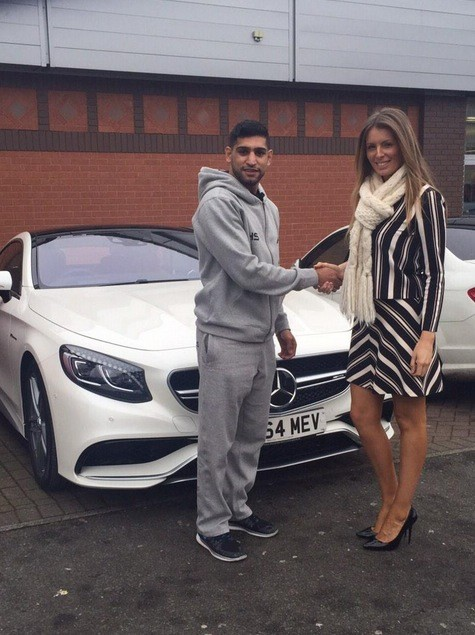 Boxer Amir Khan Buys New Mercedes S63 Amg Autoevolution