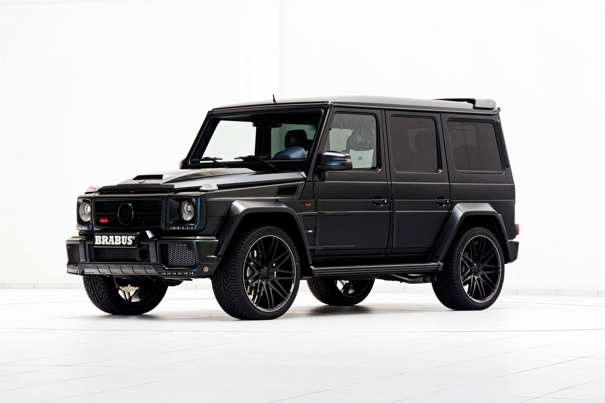Brabus 700 Widestar for G63 AMG Is a Sinister Off-road Batmobile ...