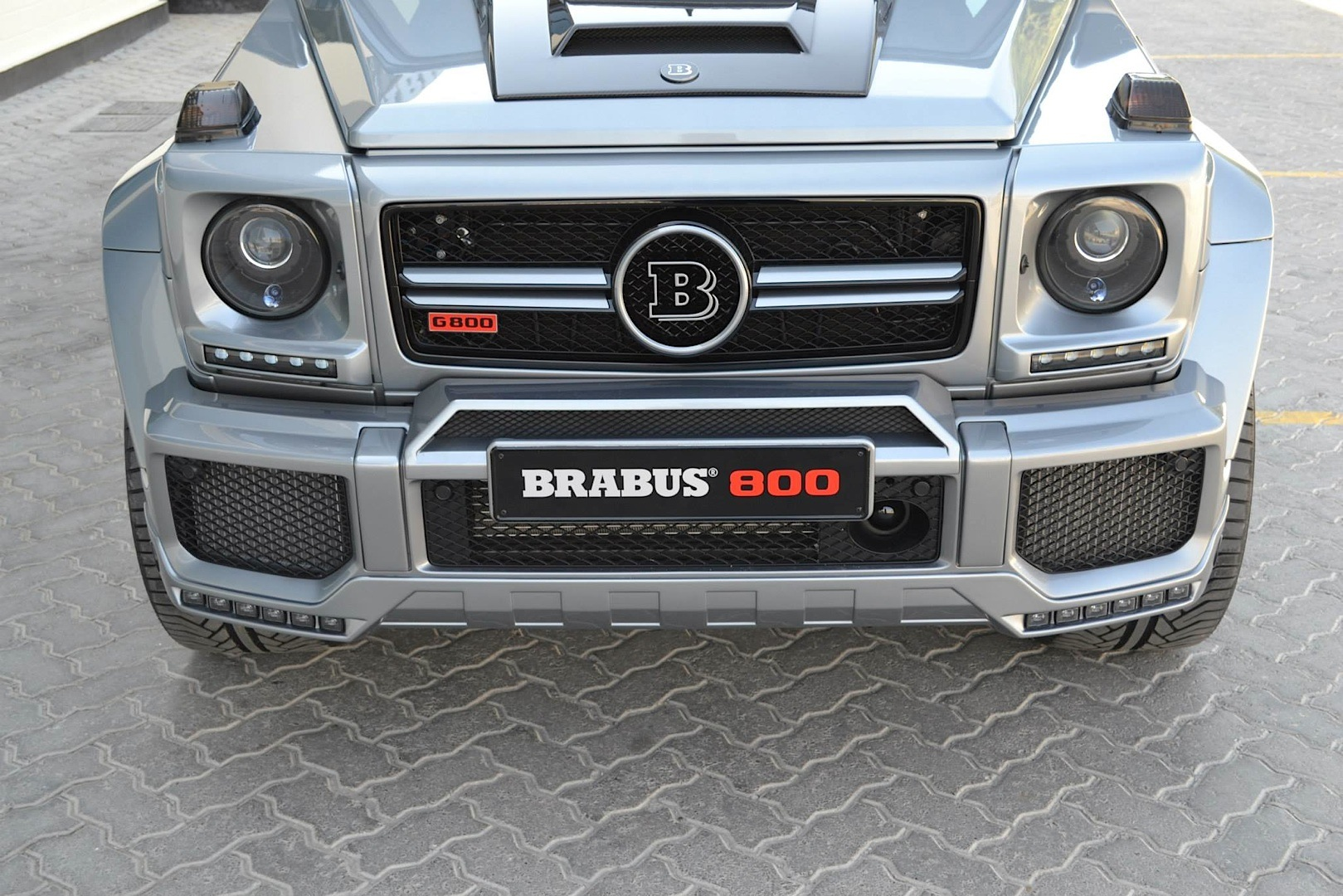 G Wagon Brabus 2016 >> Brabus 800 G 65 AMG For The Taking in Dubai - autoevolution