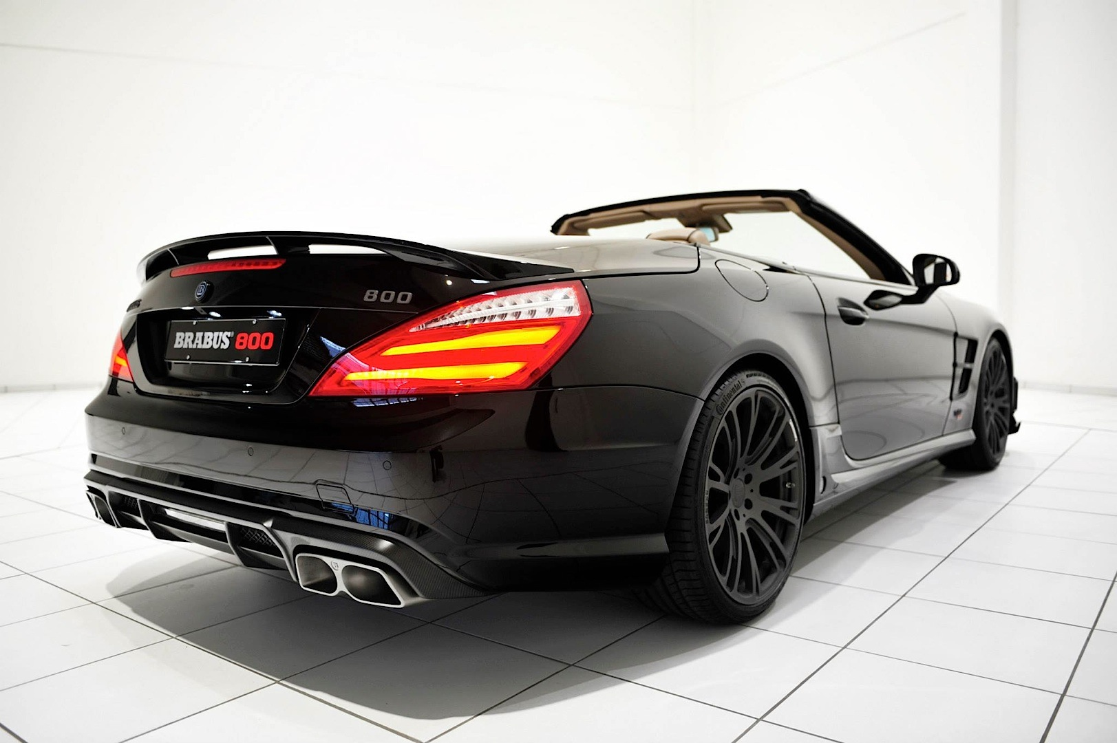 brabus 800 package takes the sl 65 amg up a notch autoevolutionbrabus 800 based on the sl 65 amg (r231)