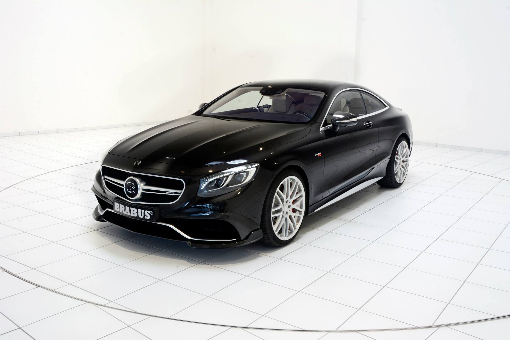 brabus 850 for s63 amg coupe brings black paint and cream. Black Bedroom Furniture Sets. Home Design Ideas