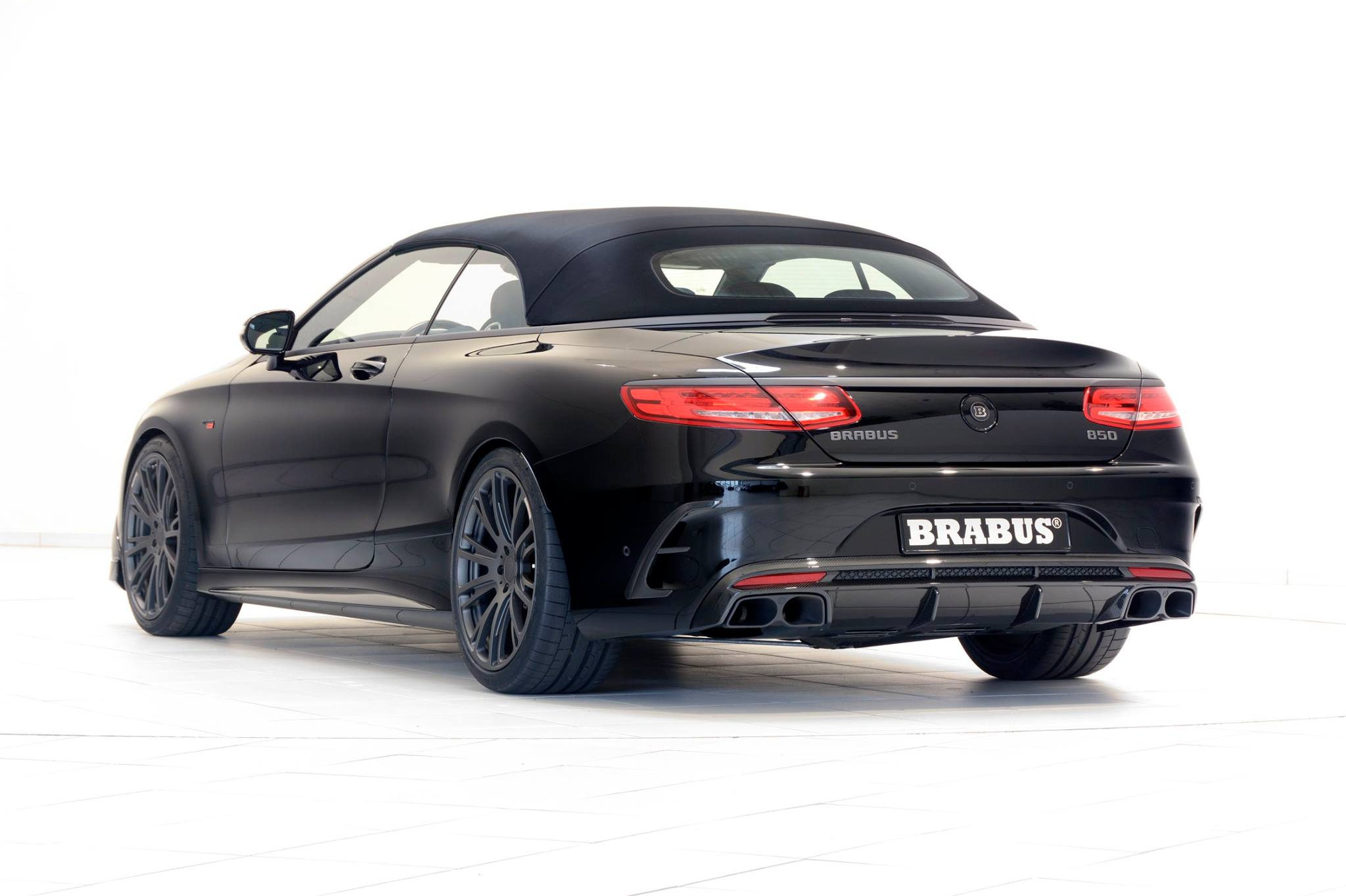 Brabus 850 Mercedes S-Class Cabrio Is More Than an AMG ...