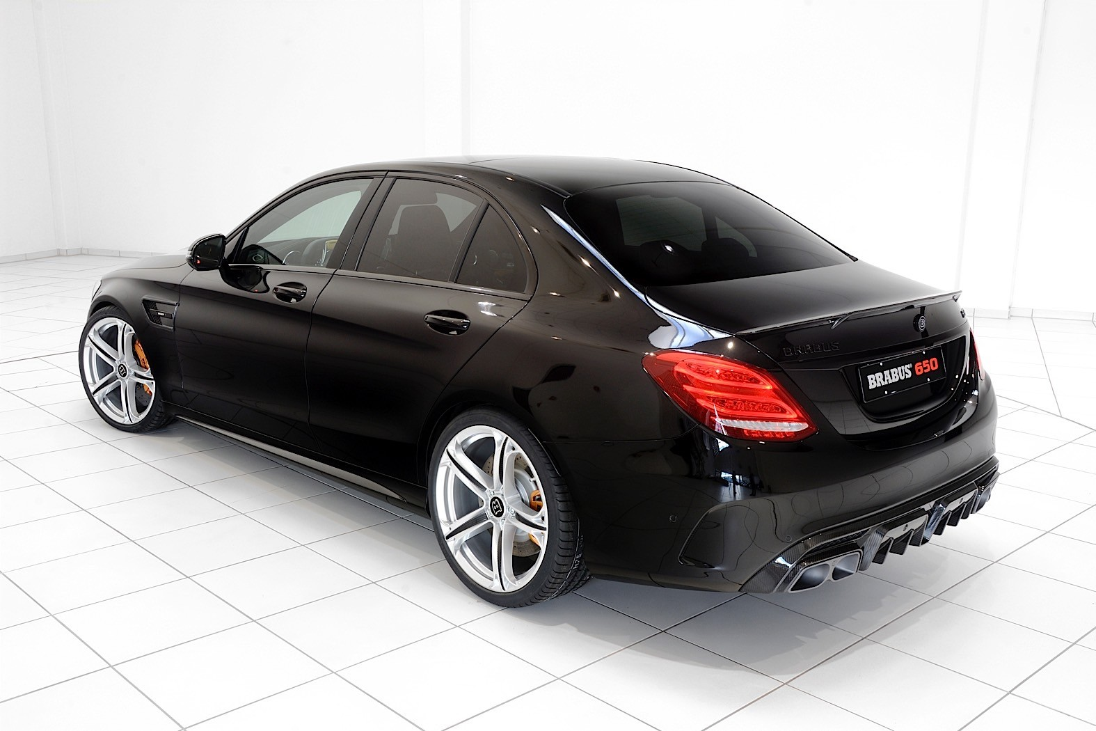 Brabus Endows The Mercedes Amg C 63 S With 650 Horsepower