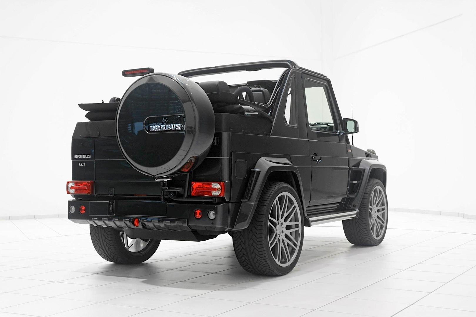 Brabus G Class Cabrio Looks Too Evil For St Tropez