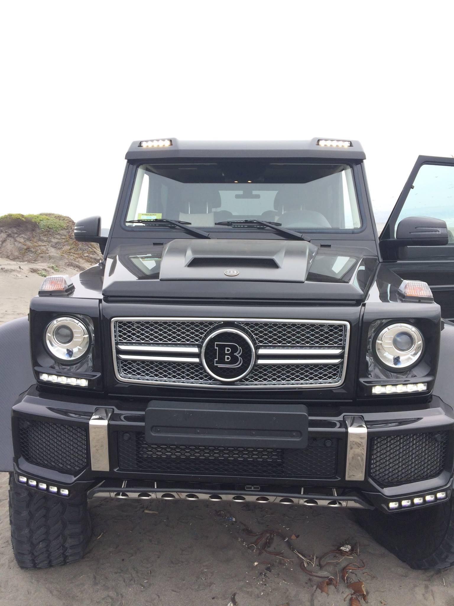 Mercedes Glc Coupe Tuning >> Brabus G63 AMG 6x6 Surfs Sand Dunes in Chile – Photo Gallery - autoevolution