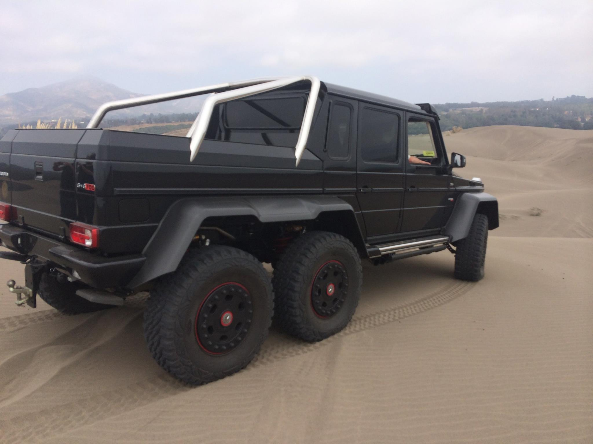 Brabus G63 Amg 6x6 Surfs Sand Dunes In Chile Photo