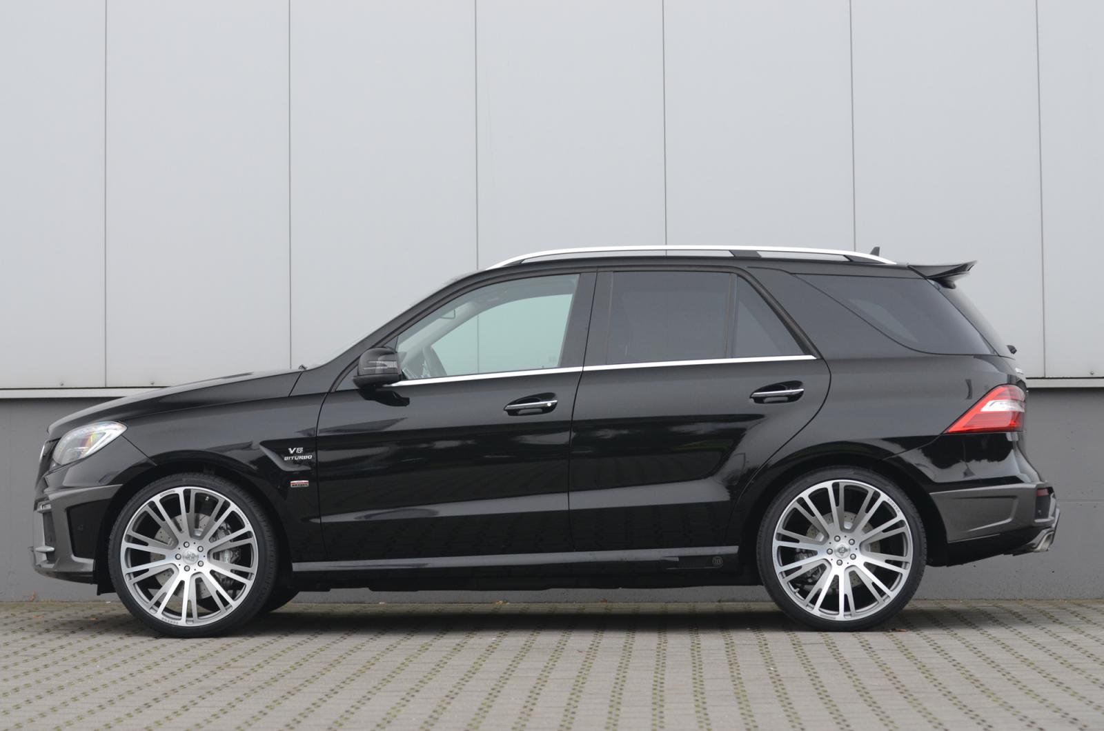 Brabus gives mercedes benz ml63 amg 611 hp autoevolution for Mercedes benz brabus amg