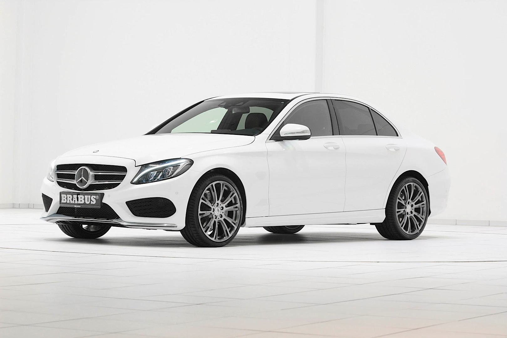 Brabus Launches Wheels For The New C Class W205 Autoevolution