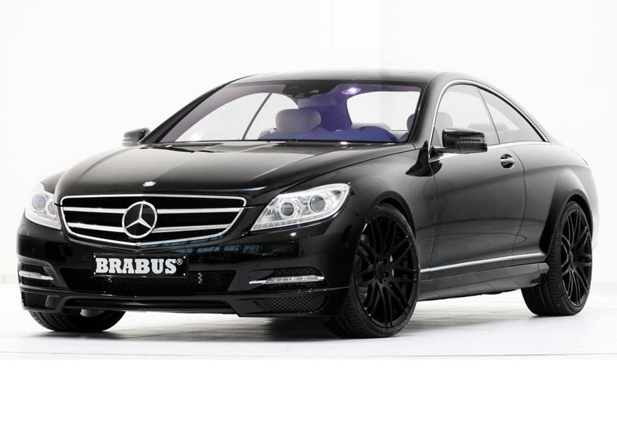 Brabus Mercedes Benz Cl 500 Amp S500 4matic Are Here