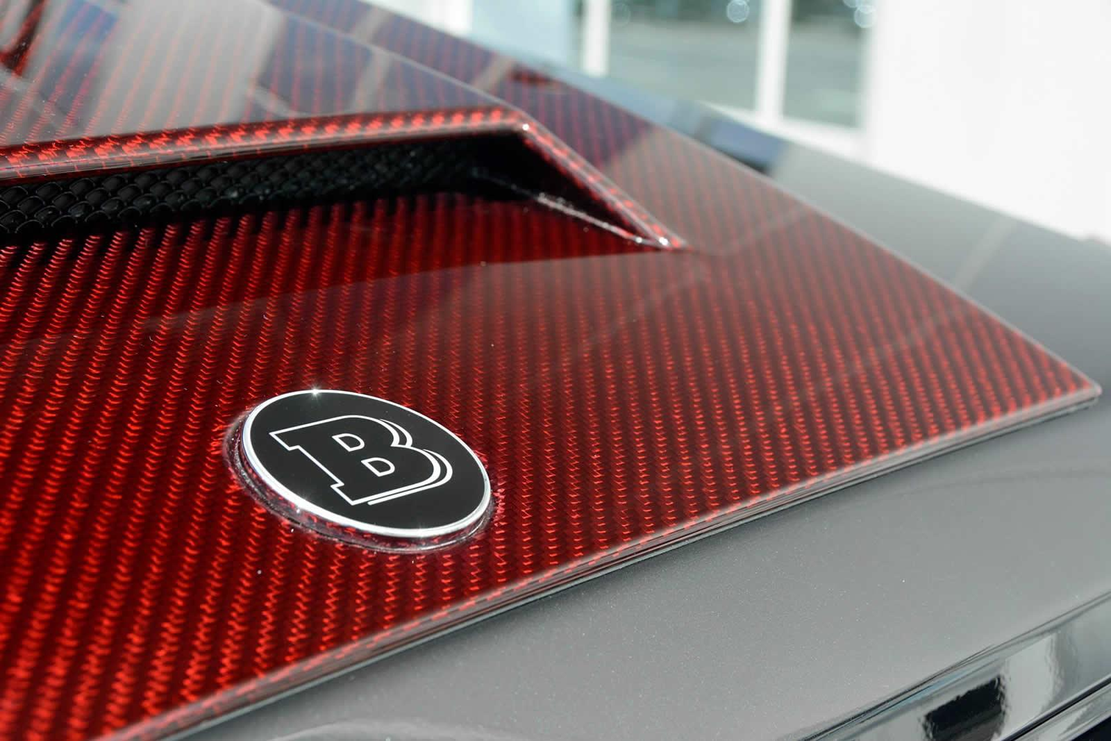 Brabus Mercedes Benz G63 Amg 6x6 Now Sports Red Carbon
