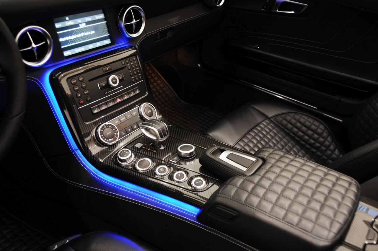 Brabus mercedes benz sls amg roadster autoevolution for Mercedes benz lighting