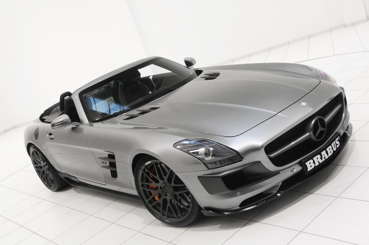 Brabus mercedes benz sls amg roadster autoevolution for Mercedes benz brabus amg
