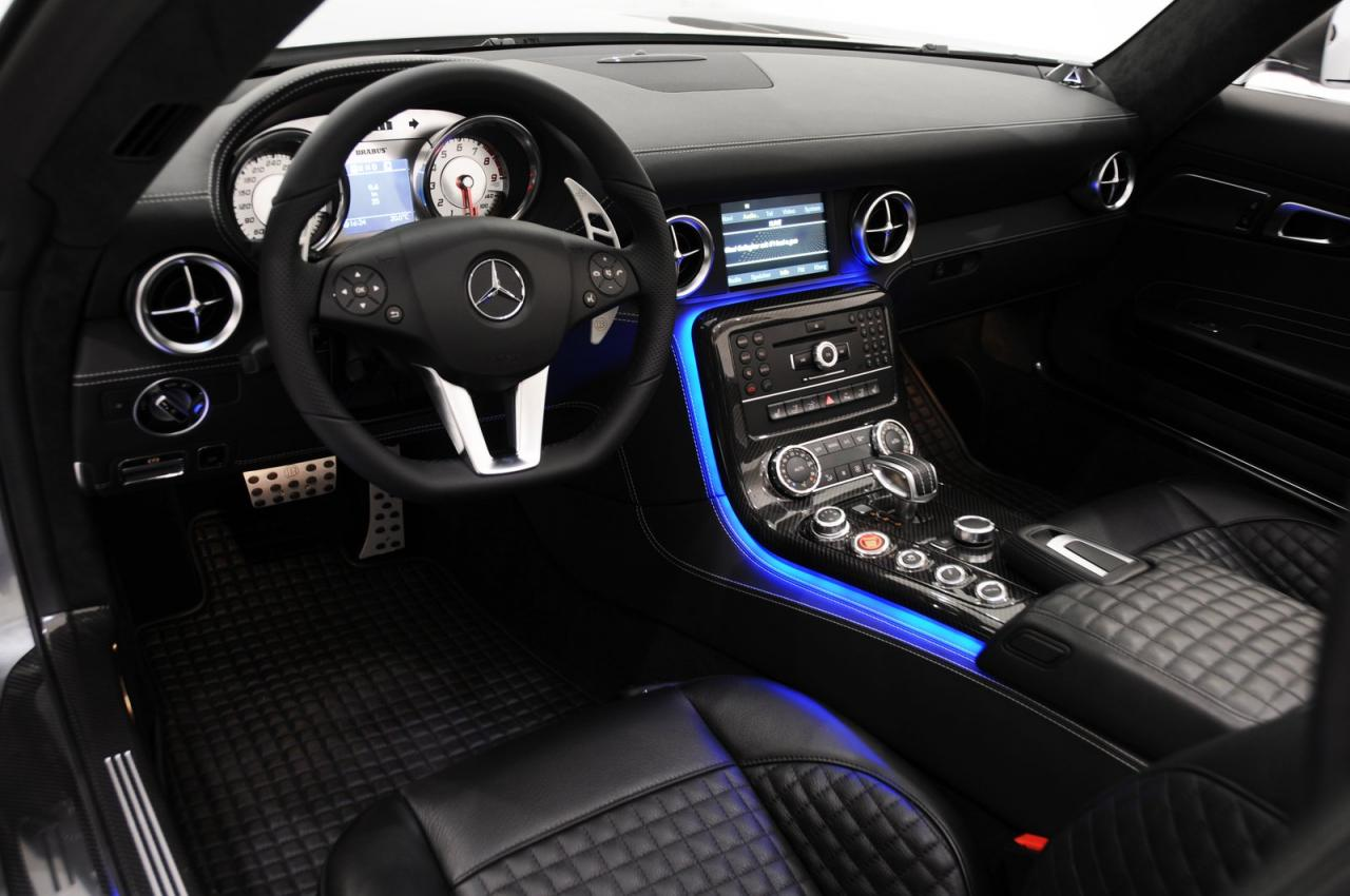 brabus mercedes benz sls amg roadster autoevolution. Black Bedroom Furniture Sets. Home Design Ideas